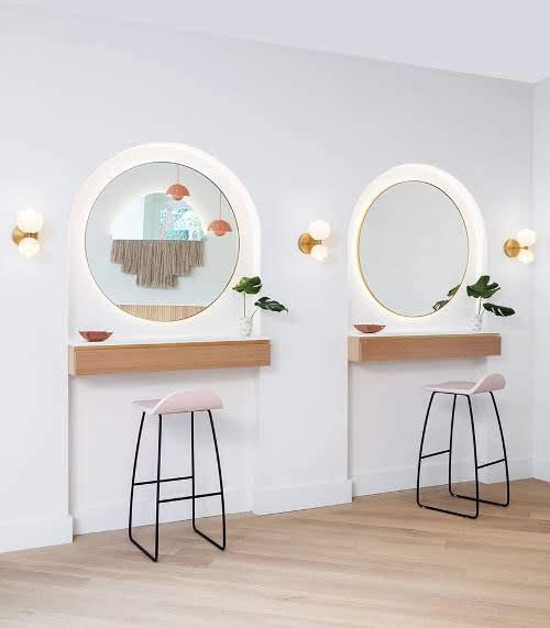 Thiết kế shop mỹ phẩm giá rẻ tại Hà Nội siêu đẹp
